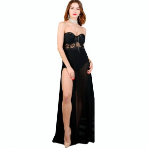 vestido negro transparente1