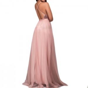 vestido rosado lentejuelas3